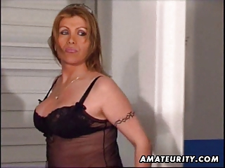 Busty Mature Amateur Wife Toying Pussy And Ass
