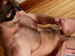 Hairy Pierced Guy Jerking Off 4 Part5