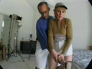 Naughty Mommy Gets All Of Her Holes Worked Out By Black Man And Eats His Cum