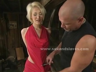 Blonde Sex Slave Forced To Fuck In Rough Bondage Sex In Extreme V