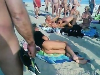 Amateur Beach Mature Nudist Outdoor Public