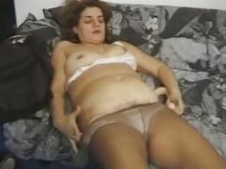European Hairy Italian Mature Pantyhose