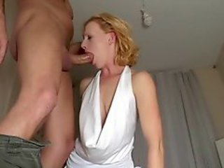 Amateur Blonde Blowjob Deepthroat