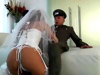 Army Ass Blowjob Bride Corset