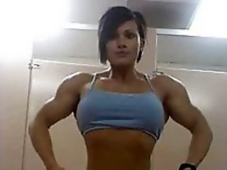 Amateur Muscled Sport Teen