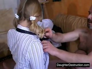 Daddy loves young fresh teen
