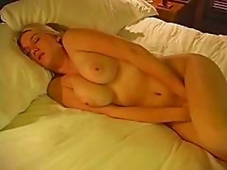 Blonde Mature Orgasm Sleeping