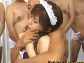 Hime Kamiya Asian doll enjoys bukkake Runnel Porn