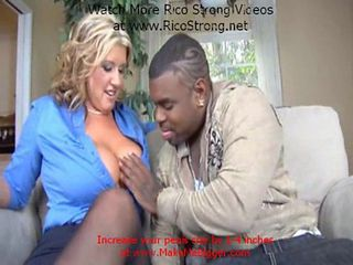 Blonde Interracial  Pornstar