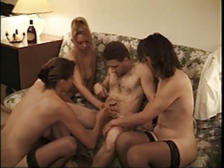 Mature Orgy Stockings