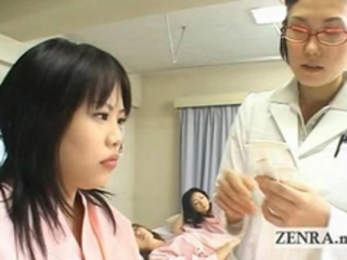 Japan milf doctor uses dildo with camera for oral exam Stream Porn
