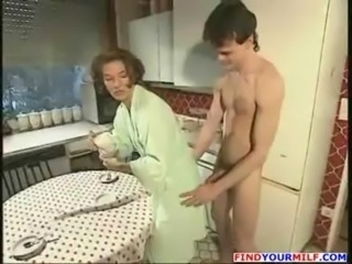 Amateur Kitchen  Mom Old and Young