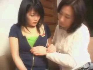 Asian Daughter Lesbian Mom