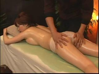 Asian Massage Oiled Panty Teen