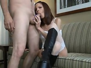Amateur Blowjob Mature Stockings Wife