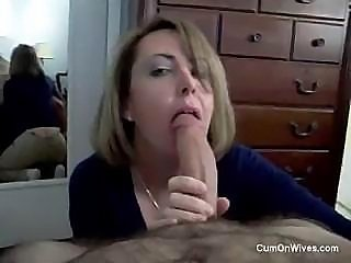 Amateur  Blowjob Homemade  Pov Wife
