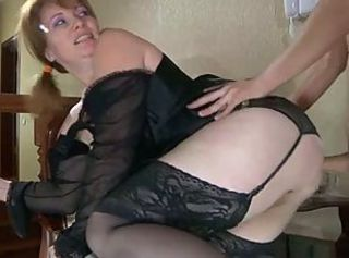 Lingerie  Mom Russian Stockings