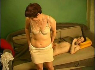 Russian mom and not her son 2