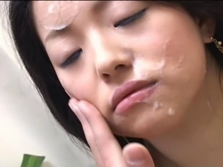 Asian Cumshot Facial Japanese Massage