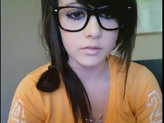 Amazing Cute Glasses Teen Webcam