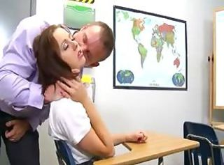 Teacher enjoying with his18yo student