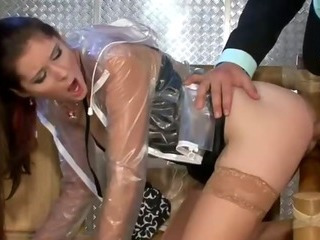 Doggystyle Hardcore Latex  Stockings