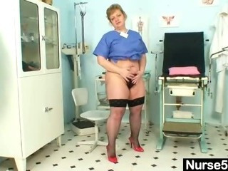 Doctor Hairy Mom Stockings Uniform