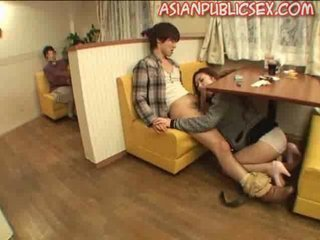 Asian Blowjob Panty Public