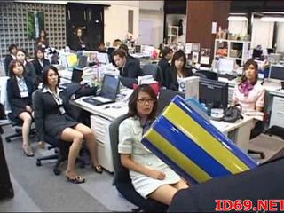 Asian Japanese  Office Uniform