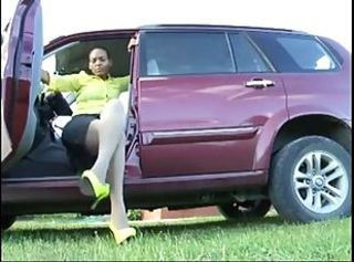 Car Ebony Legs