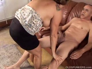 Gorgeous granny loves to fuck and eat cum by spunker1