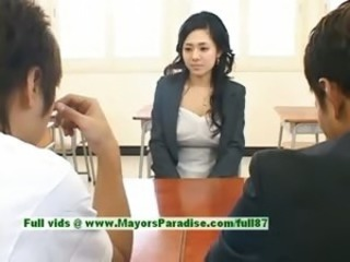 Asian School Teen