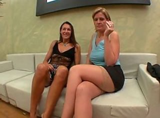 Amateur European French Lesbian Mature Stockings