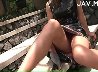 Asian Japanese Outdoor Upskirt