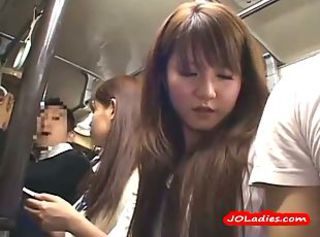 Asian Bus Teen