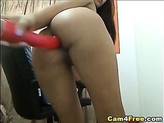 Asian Ass Dildo Masturbating Solo Thai Toy Webcam