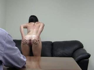 Carleigh Wonderful girl Casting Couch anal unconnected with deliamatache