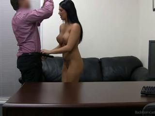Big Tits Casting Office Teen