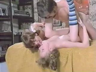 Family Sister Teen Threesome Vintage
