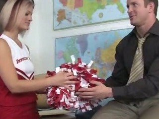 Cheerleader School Teacher Teen Uniform