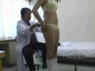 Asian Doctor Lingerie Teen