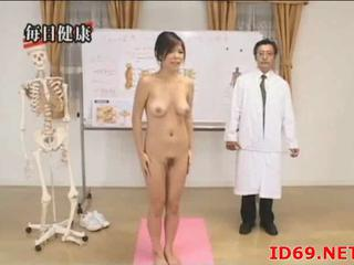 Japanese Dame Far Hairy Cunt Follows Docs Orders