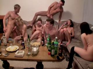 Drunk Groupsex Party Student