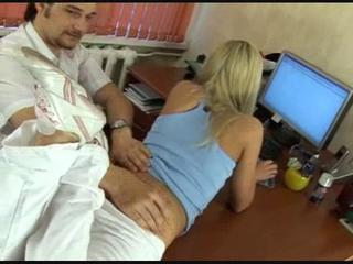 Blonde Doctor Teen