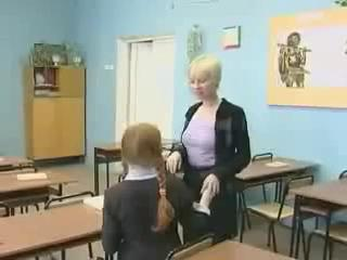 Sexy Teacher Gives Schoolgirl Private Lesson