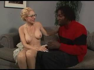 Glasses Interracial Mature Old and Young