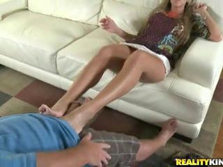 Footjob & greater amount