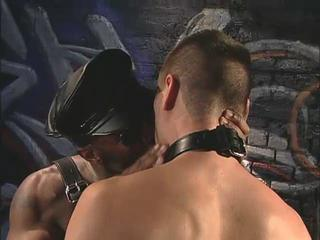 Leather Guy Gets It Hard And Heavy