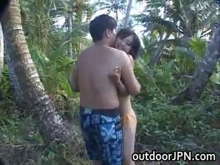 Asian Bikini Outdoor Teen