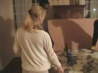 French Wife Gangbanged By Three Black Men. Hubby Films